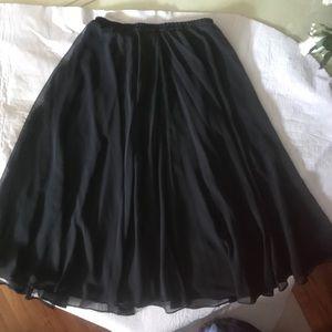 NuMode Womens Black Skirt